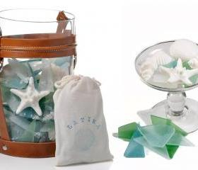 Sea glass soap - wedding favor