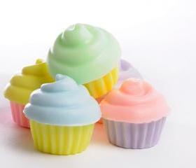 Mini Cupcake soap - 40 Party Favors