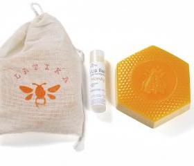 Honey Lip Balm and Soap