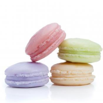 French Macaron Soap set of 4 cookie soaps